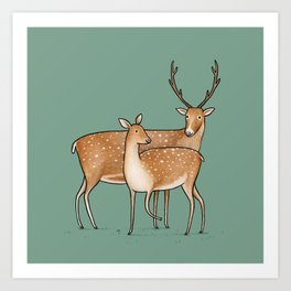 My Deer Art Print