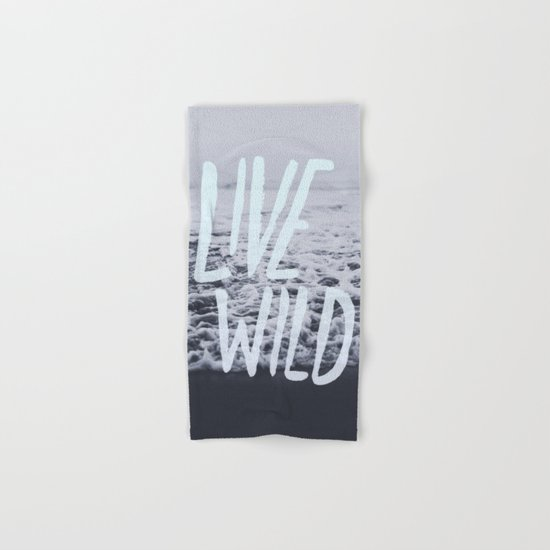 Live Wild: Ocean Hand & Bath Towel