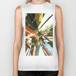Abstract Composition 144 Biker Tank