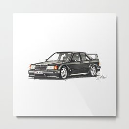 190 EVO Metal Print
