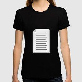 #76 List T-shirt