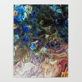 Currents 1 (Abstract Dachshund) Poster