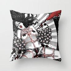 Sacrifice Of The Bastet Ingenue Throw Pillow