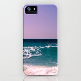 Azure Waves iPhone Case