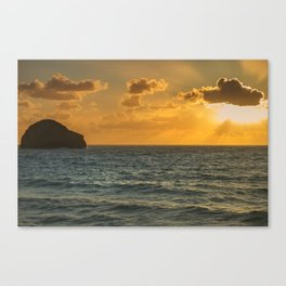 Another Sunset in Cornwall Canvas Print