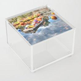 Floating Glass Acrylic Box