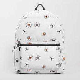 Eyeball Pattern Backpack