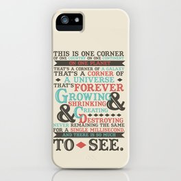 There Is So Much To See iPhone Case
