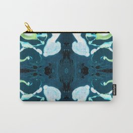 Abstract #3: Blue Marine Dream Carry-All Pouch