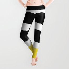 Watercolour Yellow Pop Leggings