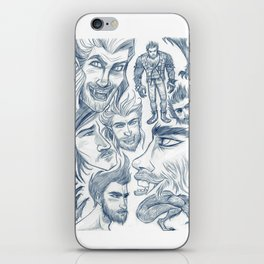 All of Them Werewolves iPhone Skin