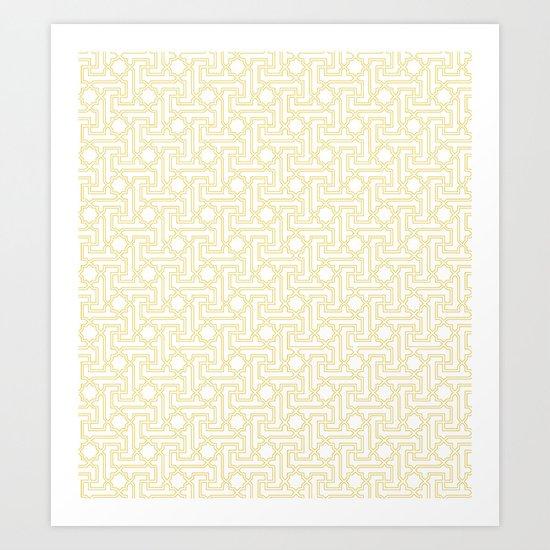 Textile Inspired Art Print