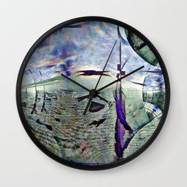 Dramatic overtones, implied, on simple structures. [EDIT] Wall Clock