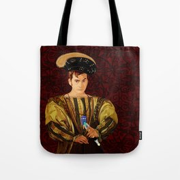 10th Doctor who long long time ago parody Tote Bag