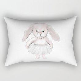 Pink bunny Rectangular Pillow