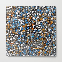 Awesome abstract mosaic A Metal Print