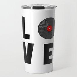 Vinyl Music Travel Mug