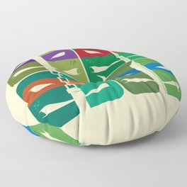 TMNT Floor Pillow