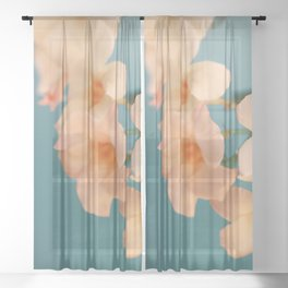 Tropicana #1 Sheer Curtain