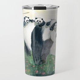 Panda family Travel Mug