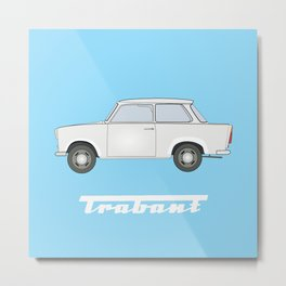 Germany Trabant DDR Metal Print