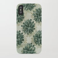 succulents iPhone & iPod Cases featuring Succulents by Sandra Arduini