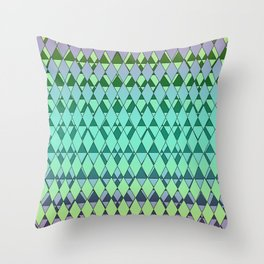 Not Your Grandpa's Argyle Throw Pillow