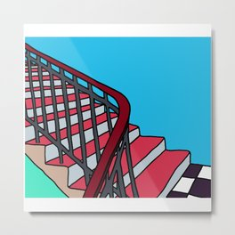 Good Vibes : 11 steps II Metal Print