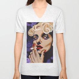 Carole Lombard Unisex V-Neck