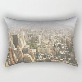 Hazy City - Manhattan Rectangular Pillow