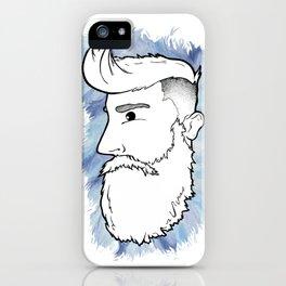 Beardface iPhone Case