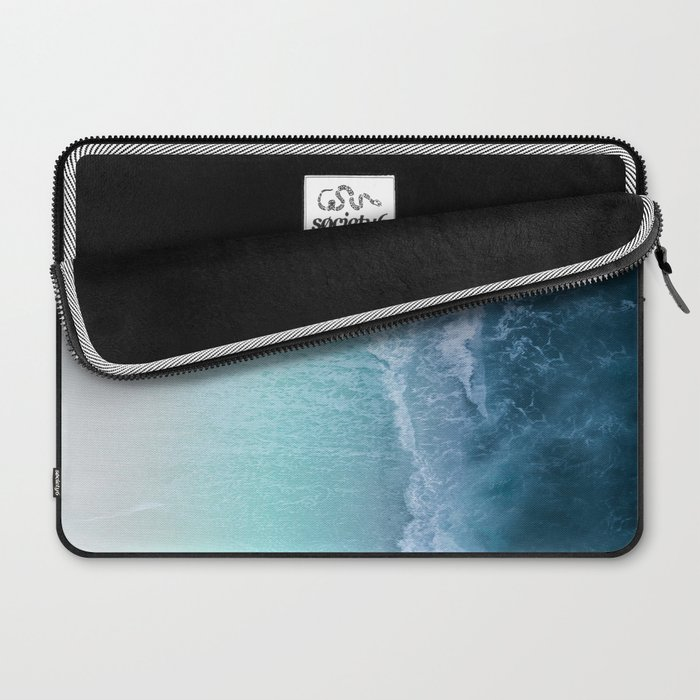 Turquoise Sea Laptop Sleeve