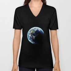 Earth Unisex V-Neck