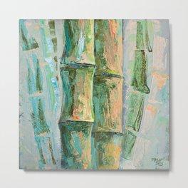 Expressive Bamboos Metal Print