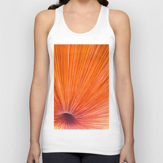 Orange and Red Unisex Tank Top