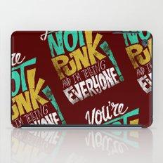 Not Punk iPad Case