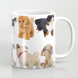 Fluffy Puppy Dog Kids Pattern Coffee Mug