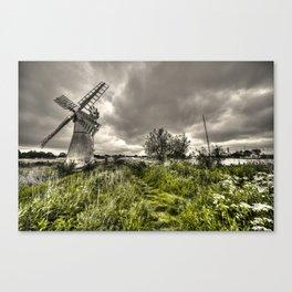 Thurn Wind Pump Canvas Print