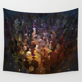 City of Lights Wall Tapestry