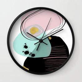Modern minimal forms 9 Wall Clock