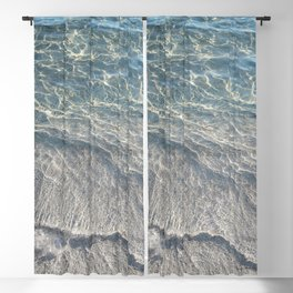 Water Photography Beach Blackout Curtain