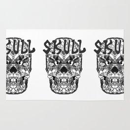 Skull - Día de Muertos / Day of the Dead Rug