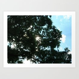 Rays of Light 2 Art Print