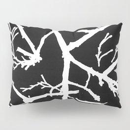 Photogram of Twigs Pillow Sham