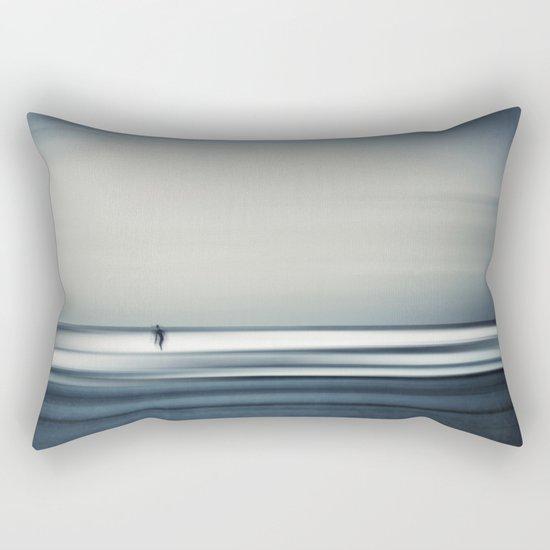 sea + surfer abstract Rectangular Pillow