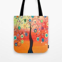 Fiesta Tree Tote Bag