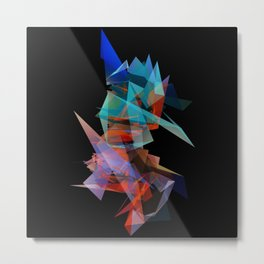 Facet 3 Metal Print
