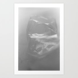 Dissolving into air Art Print