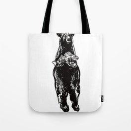 Black Bear and Pickerel Tote Bag