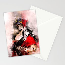 Hades - Zagreus Watercolor Stationery Cards